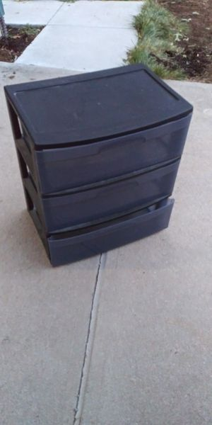Plastic storage drawer for Sale in Englewood, CO