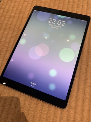 Apple iPad Pro - 10.5 inch WiFi + Cellular - 256 GB Space Gray - Smart Keyboard + back cover protection for Sale in West Los Angeles, CA