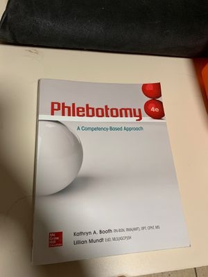 Phlebotomy book for Sale in Stratford, CT