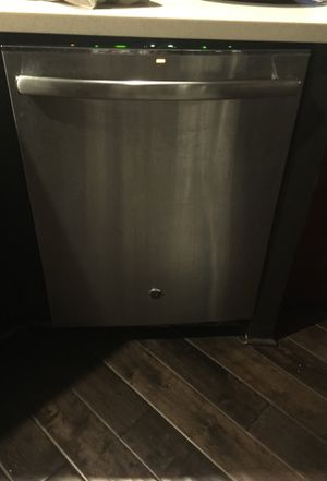 Ge dishwasher and lg 5 burner stove and microwave for Sale in Leesburg, VA