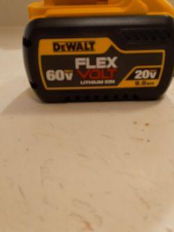 Pila De Walt Nueva De 9 Ah 60 Volts  for Sale in Garland, TX