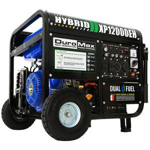 Duromax XP12000EH Dual Fuel Propane/Gasoline Generator Electric Start for Sale in Harrietta, MI