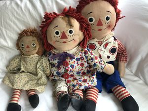Vintage Raggedy Ann & Andy for Sale in Seattle, WA