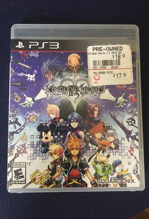 Kingdom Hearts 2.5 Remix (PS3) for Sale in Fairfax, VA