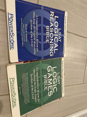 LSAT Logical Reasoning and Logic Games Bible for Sale in Riverside, CA