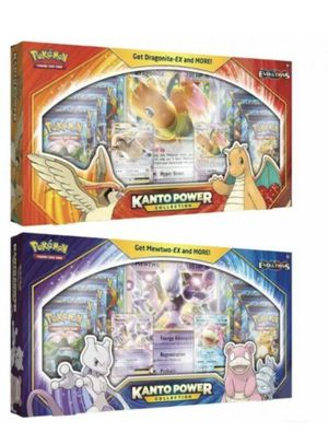 Pokemon TCG Kanto Powers Collections Box Mewtwo + Dragonite Evolutions for Sale in Hialeah, FL