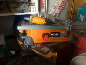 Ceramic machine and nail gun for Sale in Silver Spring, MD