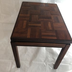 Mid century teak and rosewood side table for Sale in North Andover, MA