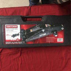 Craftsman 2 1/4 Ton Trolley Jack W/Case for Sale in Justin,  TX