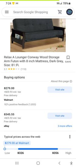 Sturdy Lightweight Futon for Sale in Columbus,  OH
