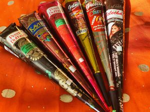 6 Henna Cones Temporary Tattoo Ink for Sale in Montville, NJ