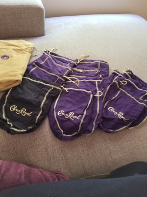 Crown Royal Bags 13 for Sale in San Diego, CA