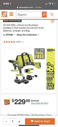 Ryobi Tools 4 Pcs for Sale in San Angelo,  TX