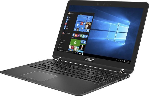 """Asus 2-in-1 15.6"""" Touch Laptop i7 7 gen 16GB GTX 950M 2TB HDD + 512GB SSD Win 10 Refurbished"""