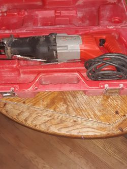 Milwaukee Sawzall In The Original Casing Runs Off 120 Volt And It Has A Cord for Sale in Cleveland,  OH