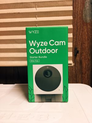Wyze outdoor camera for Sale in San Antonio, TX