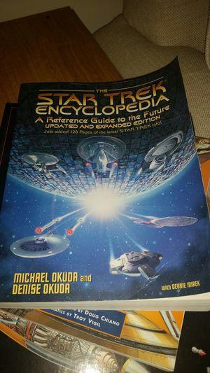 Star trek encyclopedia for Sale in Chesapeake, VA