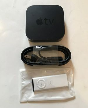 Apple TV (3rd Generation) MD199LL/A - Black for Sale in Tampa, FL