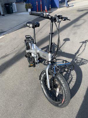 E lux bike Sierra Folding electric for Sale in Newport Beach, CA