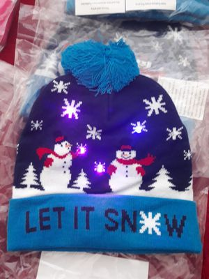 Snowmen light up beanie for Sale in Palmdale, CA