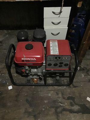 Honda EG 3500 Gas powered generator for Sale in San Francisco, CA