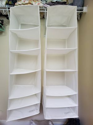 IKEA Hanging closet shelves/organizer for Sale in Phoenixville, PA