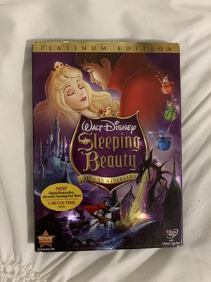 Disney's original sleeping beauty platinum edition on DVD for Sale in Norwalk, CA