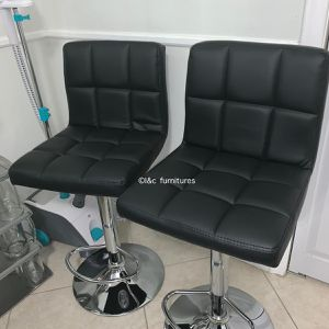 2 brand new black bar stools New in the box for Sale in Miami, FL