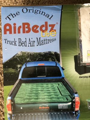 Air Bedz - Truck Bed air mattress w free wheel well inserts for Sale in Temecula, CA