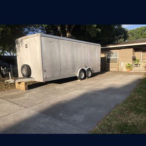 2001 20' wells cargo Enclosed Trailer OBO for Sale in Pinellas Park, FL