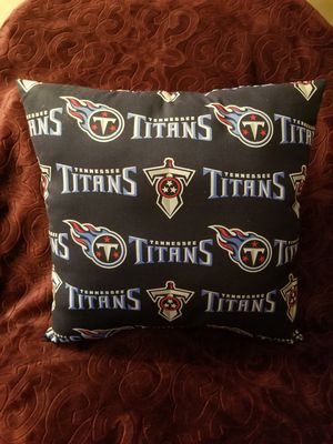 Tennessee Titans throw pillow for Sale in Snellville, GA