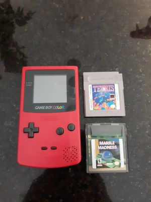 Game Boy Color/ 2 games for Sale in Fort Wayne, IN