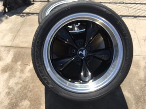 Mustang rims 18 for Sale in Fresno, CA