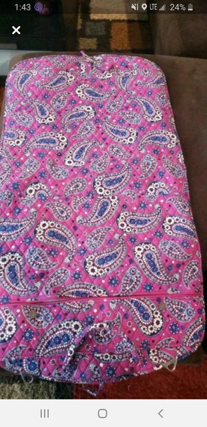 Vera Bradley garment bag for Sale in Downers Grove, IL