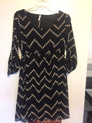 Black & Tan Dress by Pink Blush - Size 8 for Sale in Washington, IL