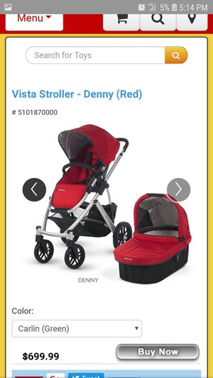 Uppababy Vista Baby stroller 2013 for Sale in CRYSTAL CITY, CA