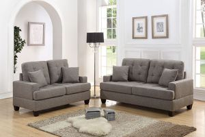 Best Prices In Town 🎆🔥🔥 2PCs Sofa Set (Polyfiber) 🔥🔥🎆 for Sale in Fresno, CA