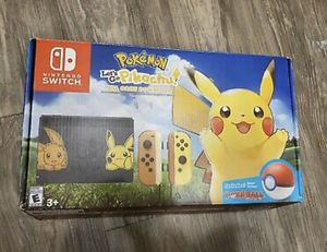 Pokémon let's go pikachu edition Nintendo switch console for Sale in Fullerton, CA