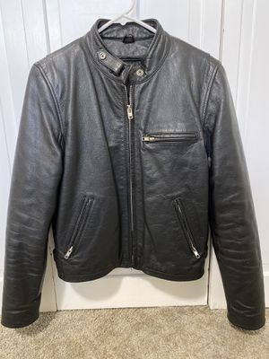 First Manufacturing Company Ladies Leather Motorcycle Jacket for Sale in Portland, OR