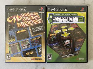 PLAY STATION 2: MIDWAY ARCADE TREASURES 1 & 2 for Sale in Riverside, CA