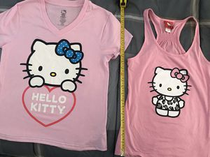 Hello kitty shirts and tank top for Sale in Chandler, AZ