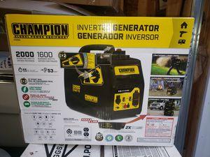 Champion Generator 2000w for Sale in Berwyn, IL