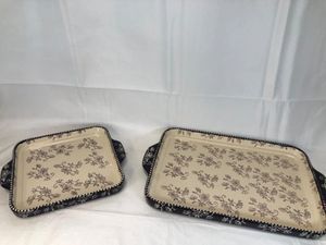Floral Lace Deep Dish Lid-It Bakeware for Sale in Pompano Beach, FL