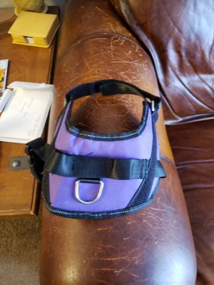 Purple, Easy On /Off Harness for pets. Size Small for Sale in Brook Park, OH