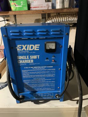 Industrial EXIDE!! Battery charger6 cell 12 volt. for Sale in Kent, OH
