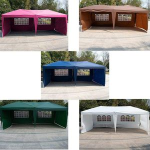 10' X 20' Outdoor Patio Gazebo EZ POP UP Party Tent Wedding Canopy W/Carry Bag Party Birthday for Sale in Rosemead, CA