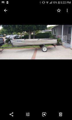 Crestline 14ft boat with trailor 650 for Sale in El Monte,  CA