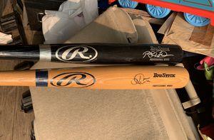 Two Autographed baseball bats for Sale in Phoenix, AZ