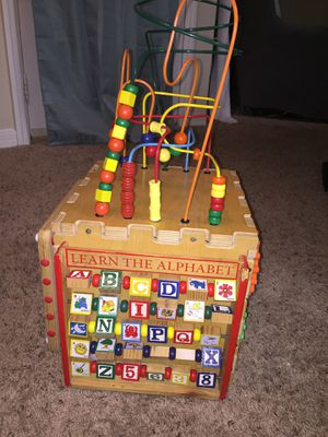Kids educative learning block learn alphabets have fun for Sale in Sudley Springs, VA
