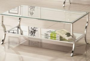 Glam mirrored coffee table for Sale in San Lorenzo, CA